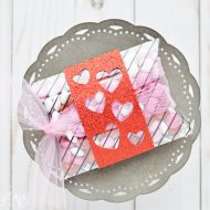 Valentine Pillow Box with the Cricut Maker