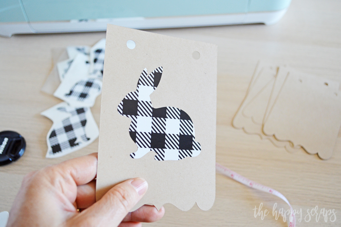 This Simple Easter Banner is so easy to make with whatever Cricut machine you might have! Get the tutorial over at The Happy Scraps.