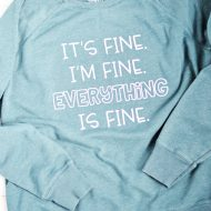 Everything is Fine Free SVG File
