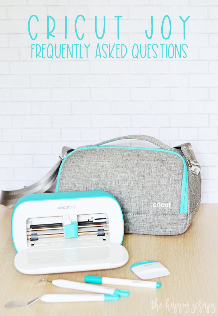 Have questions about the Cricut Joy? Today I'm answering all of your Cricut Joy FAQs. If you have more questions, let me know! I'm happy to answer them!