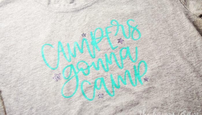HTV Camping T-Shirts