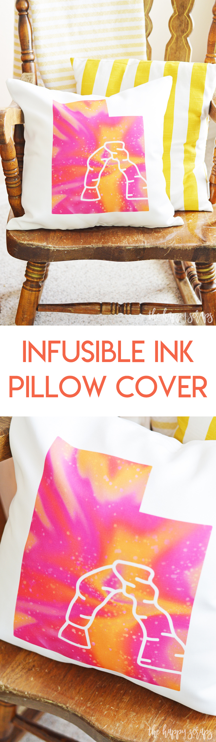 Using the new Infusible Ink Pillow Cover, you can create amazing and vibrant throw pillows for your home! What kind of pillow will you create first?