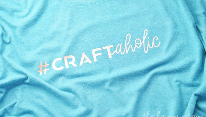 Craftaholic Crafter Tee