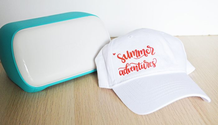 How to Make a Summer Hat with the Cricut Joy