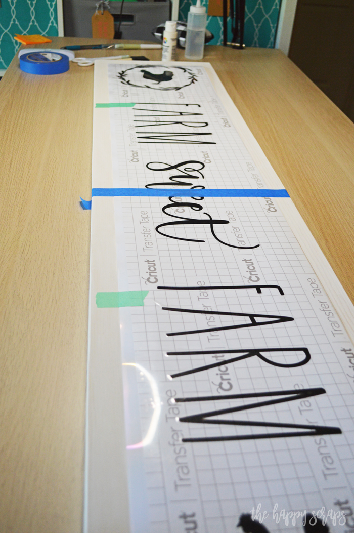 Learn how simple it is to make your own Farm Sweet Farm Front Porch Sign with the Cricut Maker 3. You'll have it made in no time!