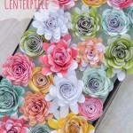 Paper Flower Spring Centerpiece